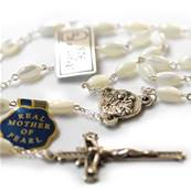Genuine mother-of-pearl rosary